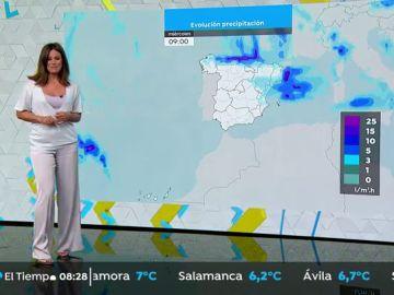 Caen las temperaturas y aumentan las lluvias en el norte de España. Esta es la previsión para este miércoles.
