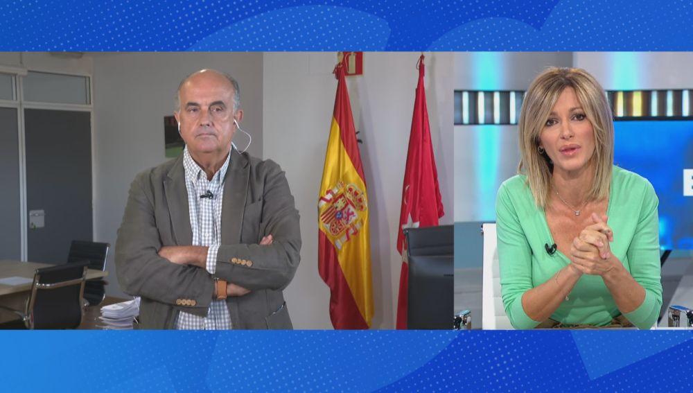 Un café con Susana, Antonio Zapatero