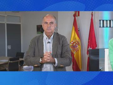 Antonio Zapatero, entrevistado en Espejo Público