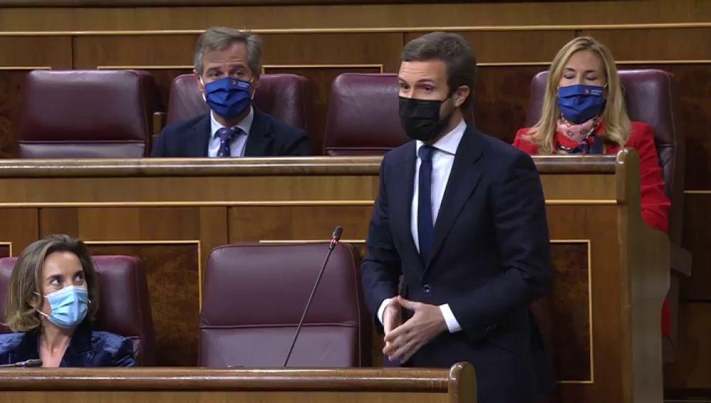 """Casado no pactará la renovación del CGPJ si Sánchez mantiene la reforma: """"A mí no me presiona nadie"""""""