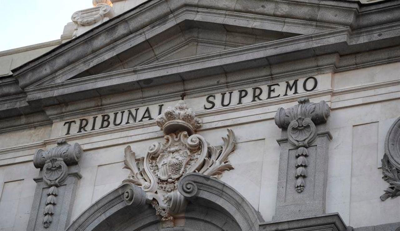 Fachada del Tribunal Supremo (Archivo)