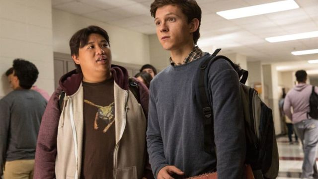 Jacob Batalon y Tom Holland en 'SpiderMan: Homecoming'