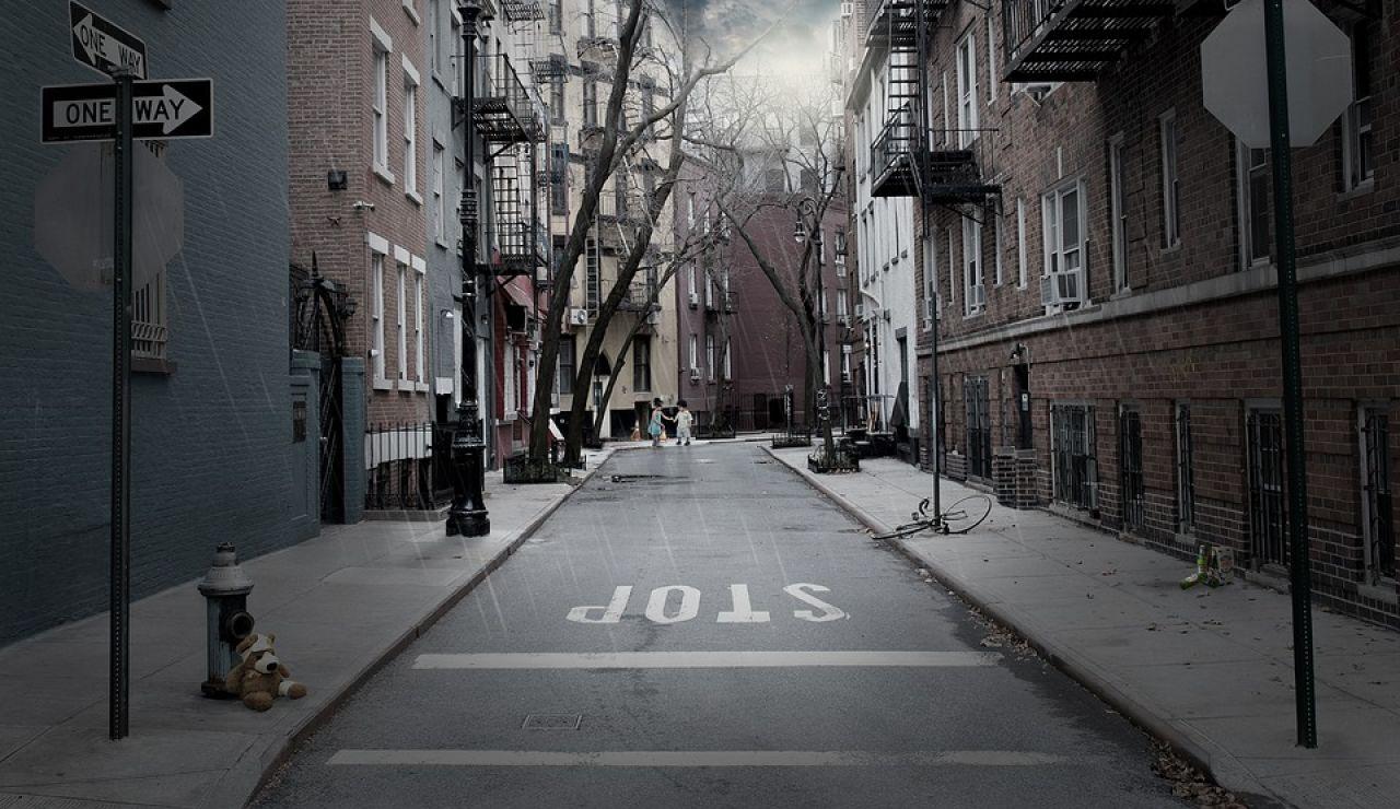 La señal de STOP en una calle