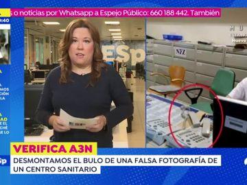 La fotografía falsa de un hospital de Madrid sobre la falta de atención sanitaria por coronavirus