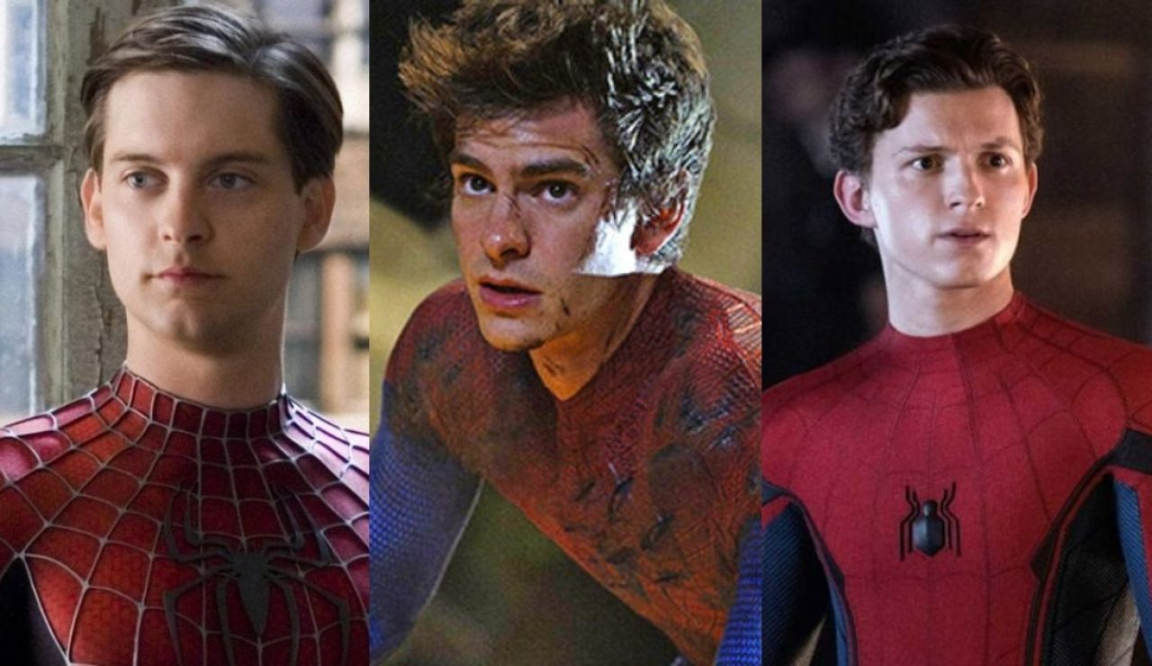 Los tres SpiderMan del cine