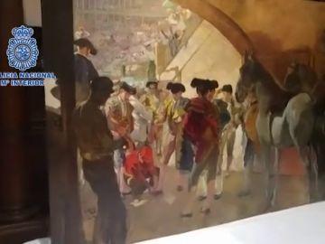 Recuperan un cuadro de Sorolla y detienen a un condenado en el 'Caso Malaya'