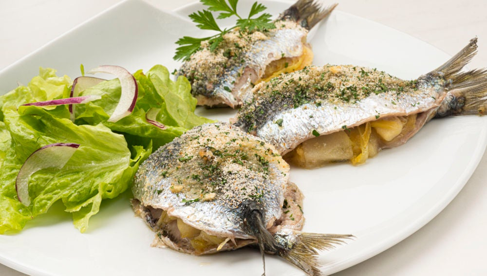 Receta exprés de sardinas rellenas al horno