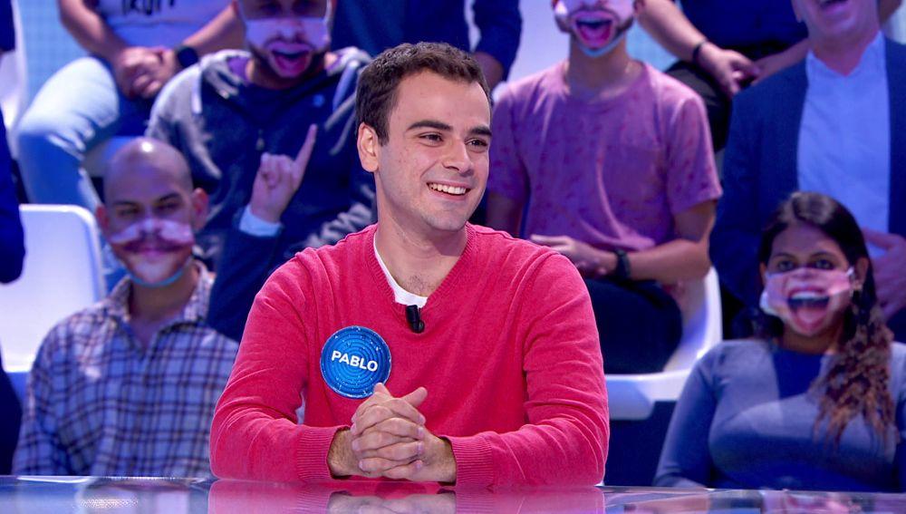 Pablo se convierte en el concursante más longevo de la nueva etapa de 'Pasapalabra'