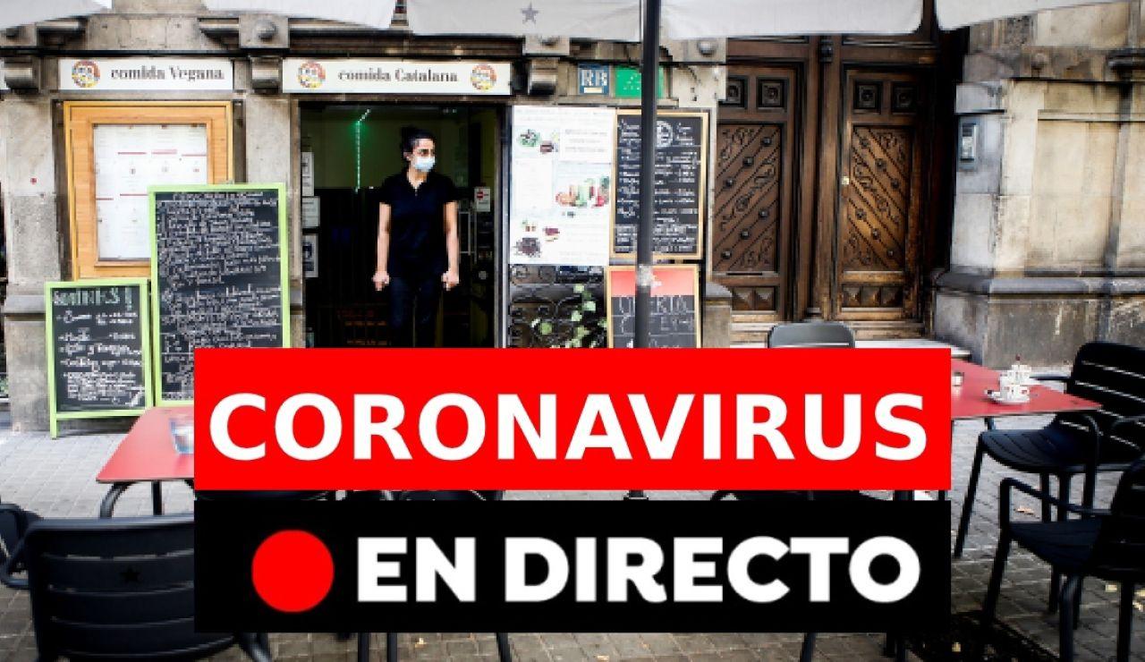 Última hora en directo de la pandemia del coronavirus en España