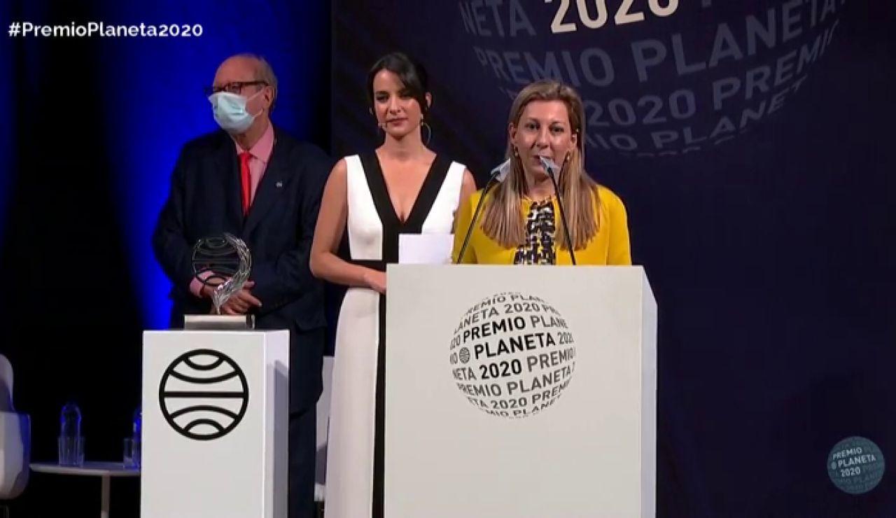 Eva García Saenz de Urturi, ganadora del Premio Planeta 2020