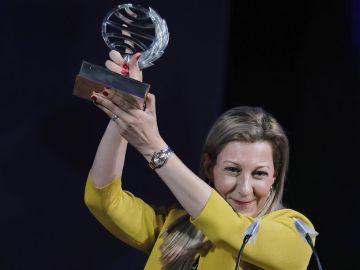 Eva García Sáenz de Urturi. Premio Plsneta 2020