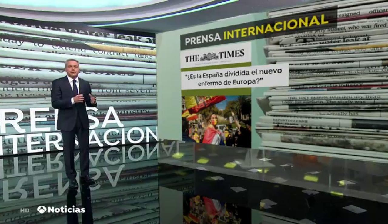 Así ven los periódicos internacionales la expansión del coronavirus en España