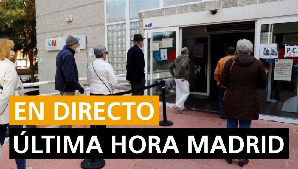 Coronavirus Madrid: Illa explica el estado de alarma, contagios, fallecidos y última hora del 15 de octubre en directo