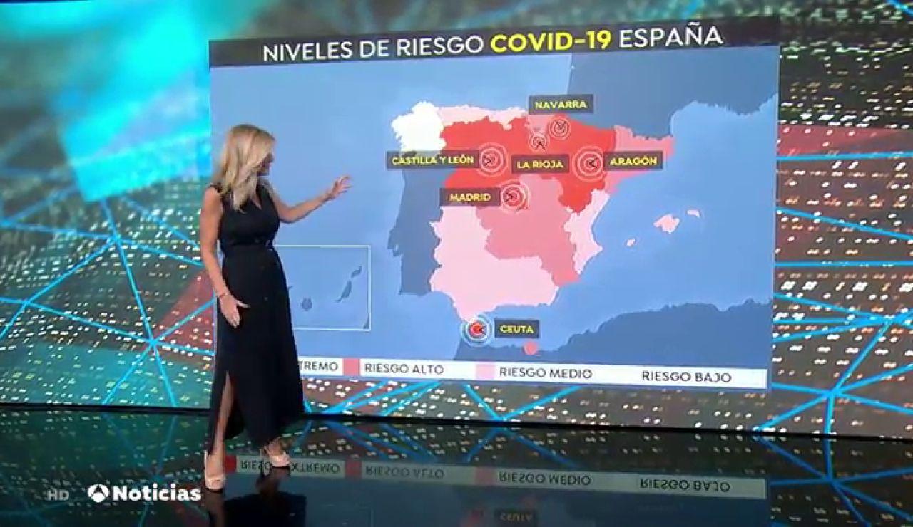 """¿Qué comunidades están en una situación de """"riesgo extremo"""" por el avance del coronavirus?"""