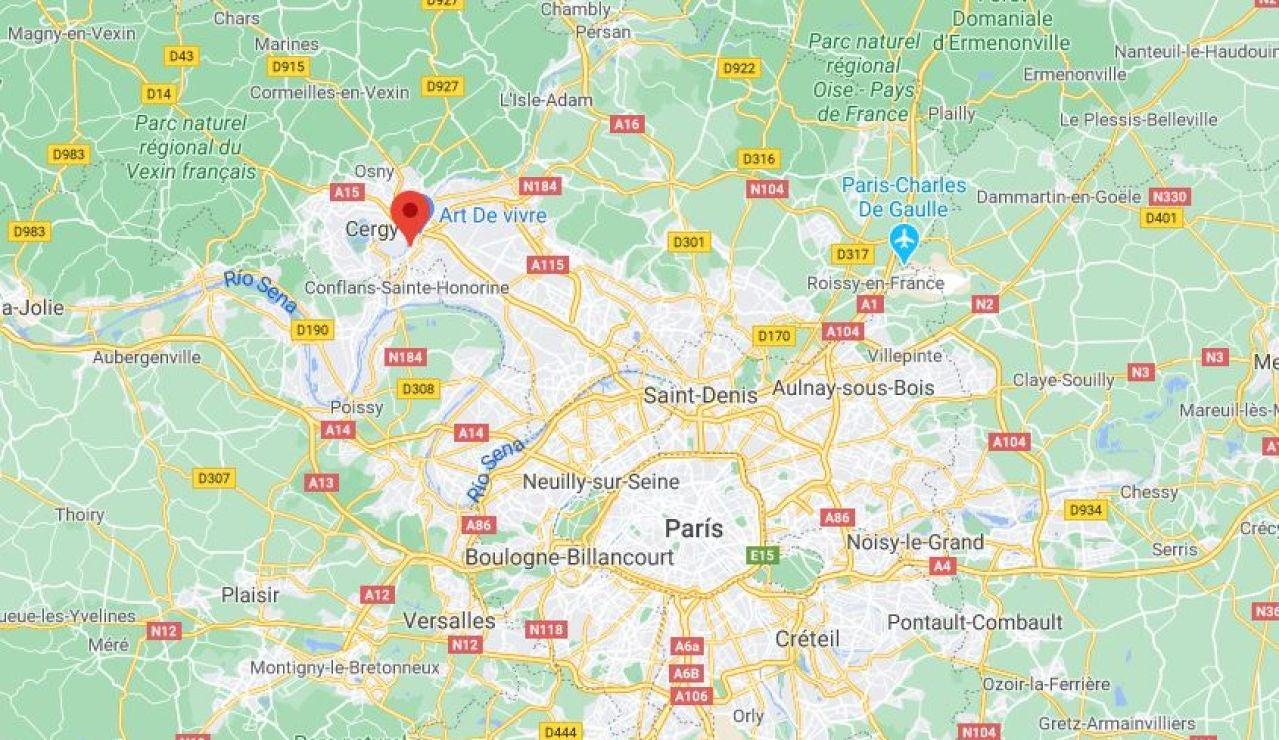Decapitado un hombre cerca de París