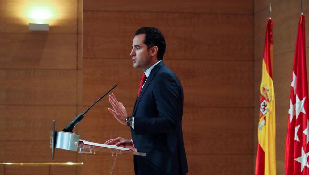 Ignacio Aguado anuncia medidas más duras