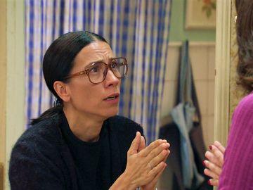 Manolita, desbordada al recibir una amarga noticia por parte de Cristina
