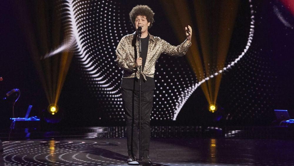 José Manuel Carrasquilla, puro corazón con 'Se nos rompió el amor' en las Audiciones a ciegas de 'La Voz'
