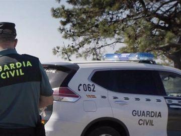 Una patrulla de la Guardia Civil