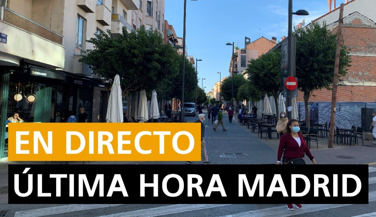 Coronavirus Madrid: Una semana del estado de alarma en Madrid, contagios, fallecidos, restricciones y última hora del 16 de octubre en directo