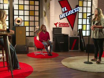 Alba Pérez nos hace vibrar 'Con los años que me quedan' en 'El Regreso'