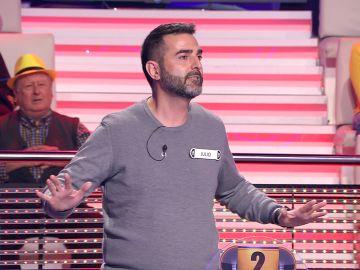 """""""Tengo un apellido curioso"""": Un concursante pone el cebo para Arturo Valls en '¡Ahora caigo!'"""