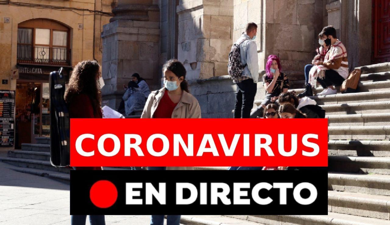 Confinamientos perimetrales por los contagios de coronavirus en España en directo