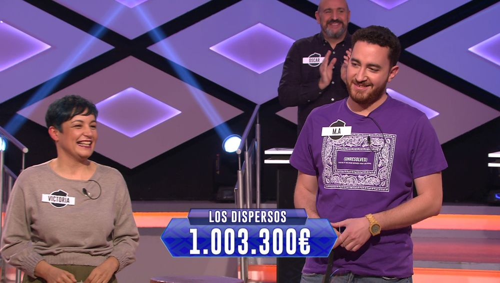 Juanra Bonet comunica una gran noticia: ¡'Los dispersos' superan el millón ganado!