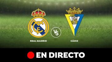 Real Madrid - Cádiz: Partido de hoy de Liga Santander, en directo