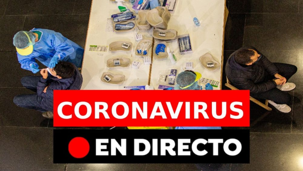 Coronavirus en España, en directo