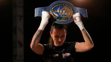 Joana Pastrana, campeona de Europa por tercera vez