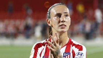 Virginia Torrecilla, jugadora del Atlético de Madrid