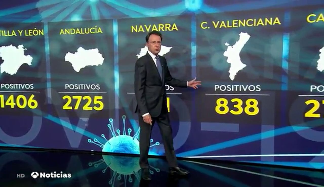REEMPLAZO España bate nuevo máximo de contagios de coronavirus en un solo día