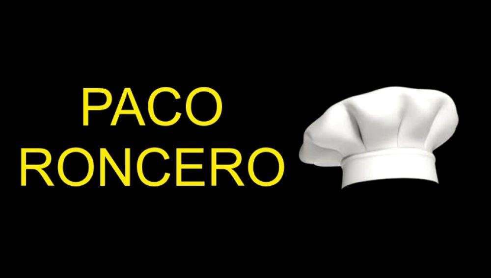 El restaurante Paco Roncero