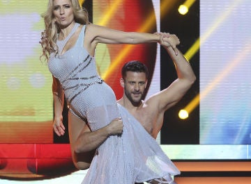 Giuseppe di Bella y Silvia Abril en 'Tu cara me suena'