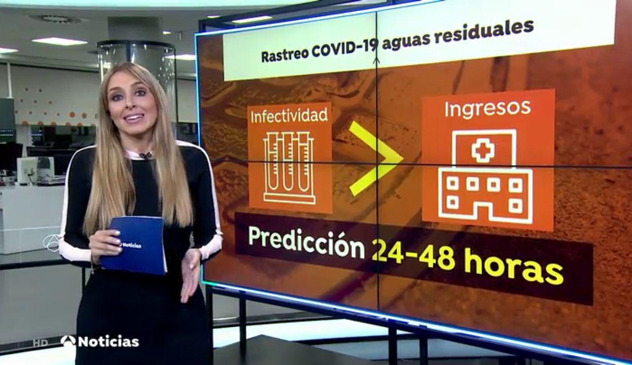 Canarias rastrea el coronavirus en sus aguas residuales, una técnica clave para detectar casos asintomáticos