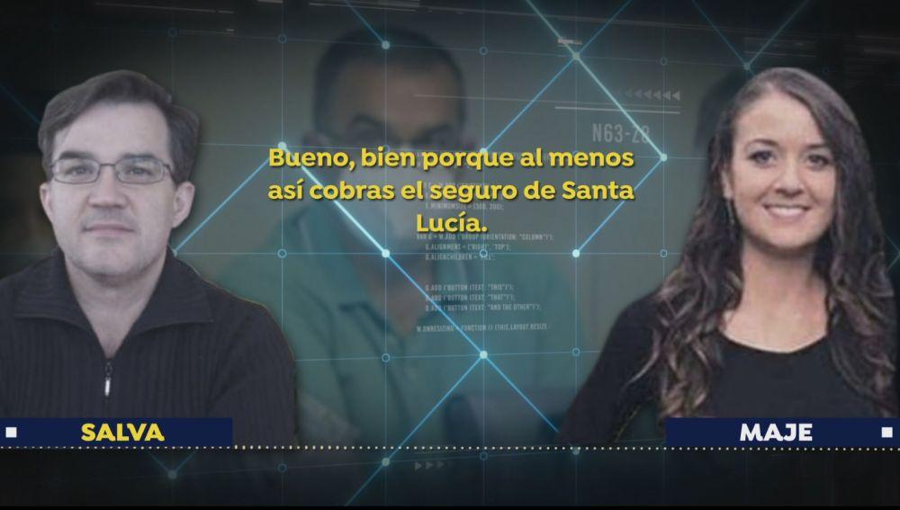Exclusiva de Espejo Público: pinchazo telefónico a Maje y su amante tras el crimen