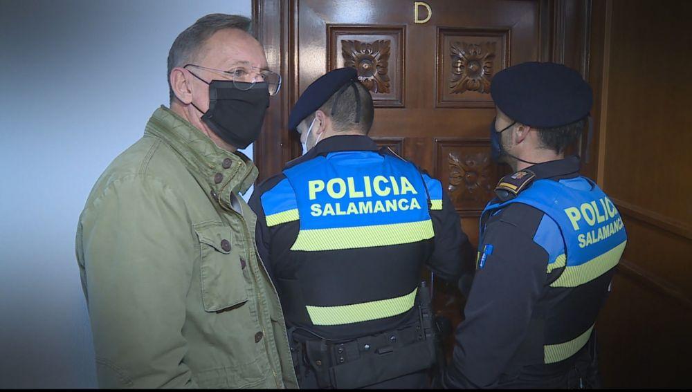 Policía en fiesta ilegal en Salamanca