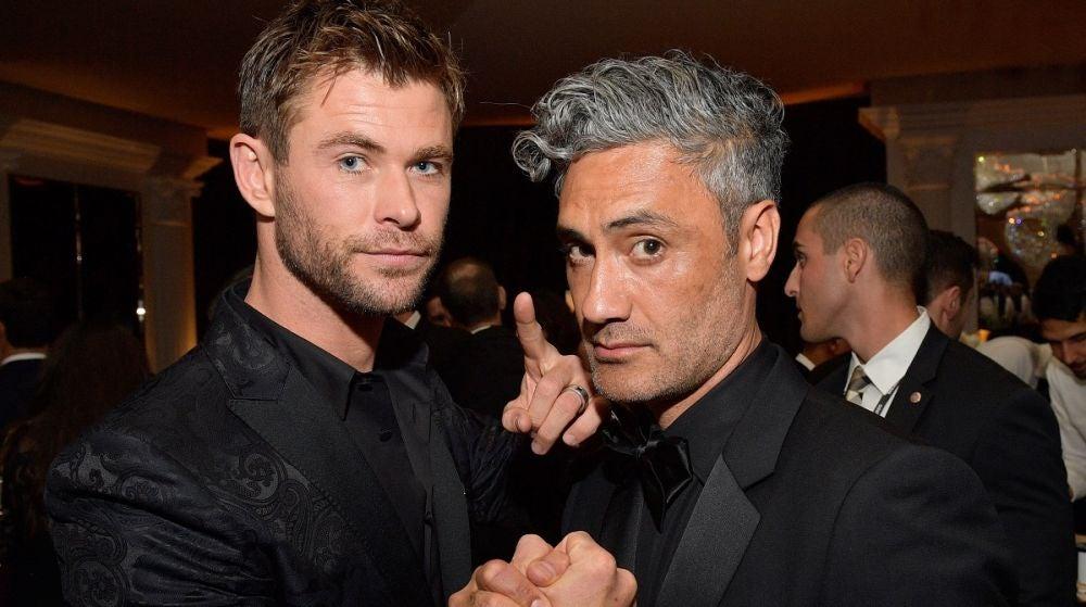 Chris Hemsworth y Taika Waititi