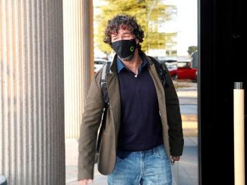 Nacho Palau, a su llegado a los juzgados