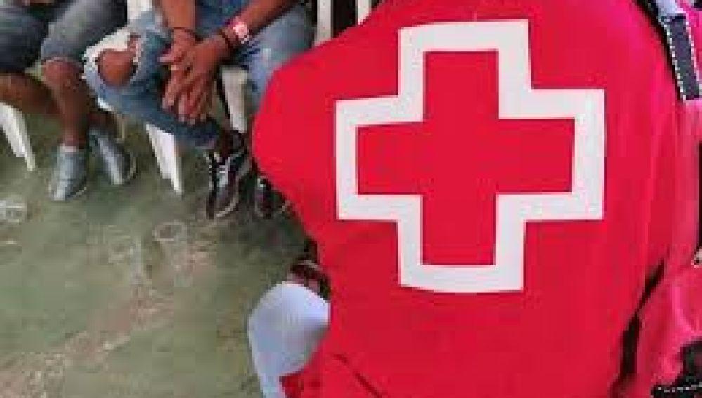 Voluntarios de Cruz Roja Española
