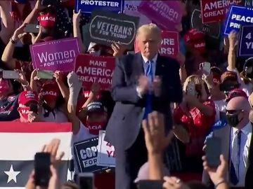 Donald Trump confiesa que ha tenido dudas sobre su reelección