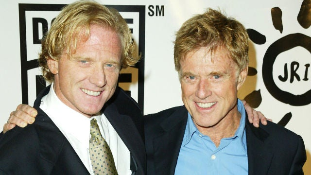 Robert Redford junto a su hjio James Redford