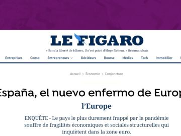 Artículo en Le Figaro sobre España