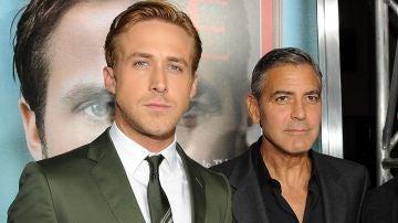 George Clooney y Ryan Gosling