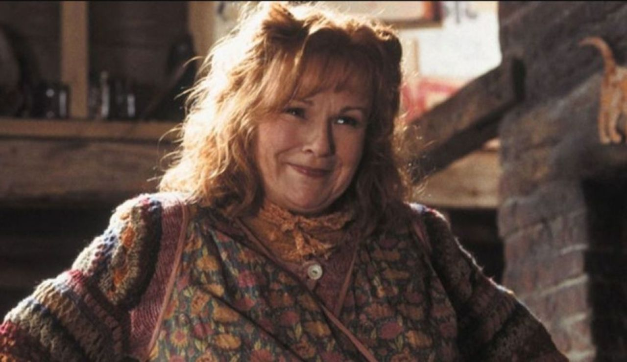 Julie Walters como Molly Weasley en 'Harry Potter'