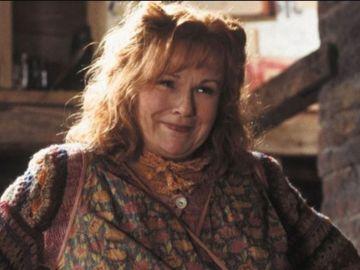Julie Walters como Molly Weasley en 'Harry Potter'