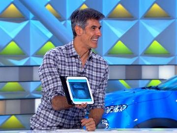 El tierno panel de 'La ruleta de la suerte' que ha puesto los pelos de punta a Jorge Fernández