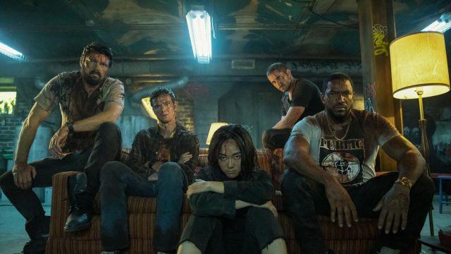 Los protagonistas de 'The Boys'