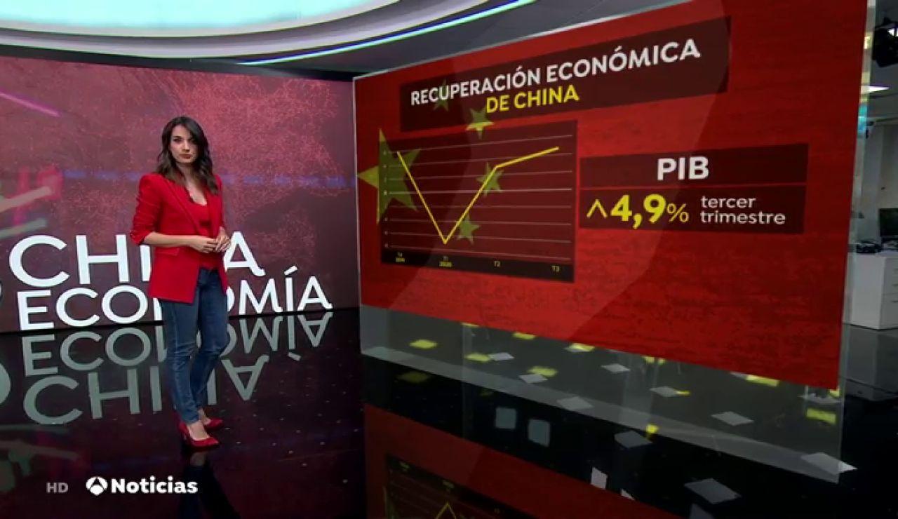 La economía china vuelve a crecer tras controlar la pandemia de coronavirus y su PIB crece un 4,9%